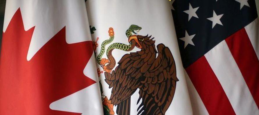 Las negociaciones se han empantanado ya que Canadá y México se resisten a las...