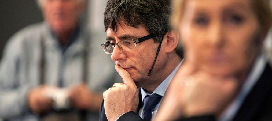 Puigdemont anunció ayer en un debate en la Universidad de Copenhague que hoy...