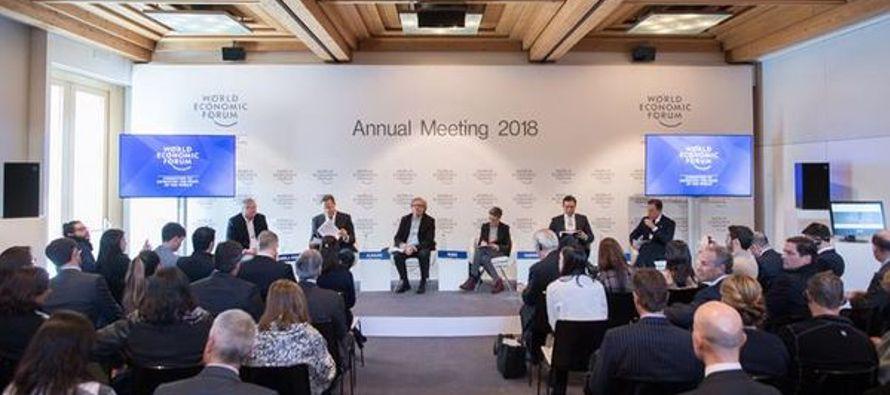 El Fondo Monetario Internacional dijo en el Foro Económico Mundial de Davos que...