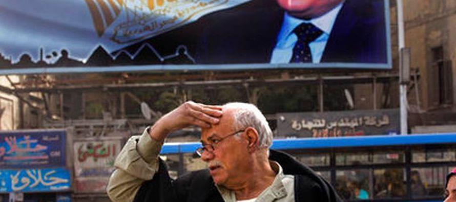 La plaza Tahrir (Liberación, en árabe), epicentro de las protestas en El Cairo, ahora...