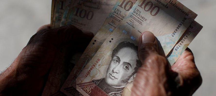La creación de dinero en octubre pasado representaba el 79 por ciento de los ingresos...