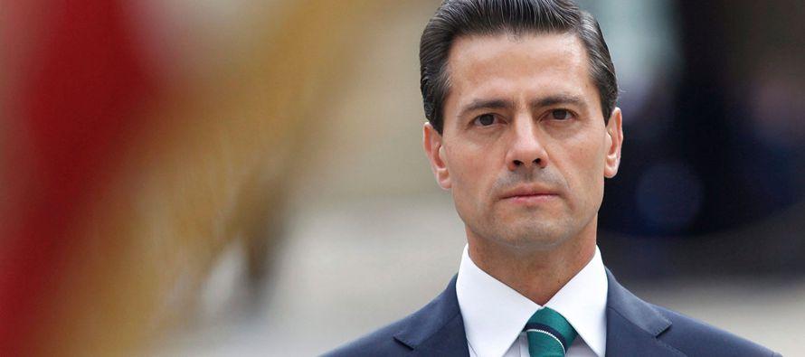 Aunque Peña Nieto prometió no tomar parte por ningún candidato en las...