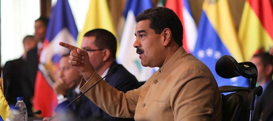 """El jefe de Estado venezolano pidió a los candidatos opositores """"cumplir su..."""