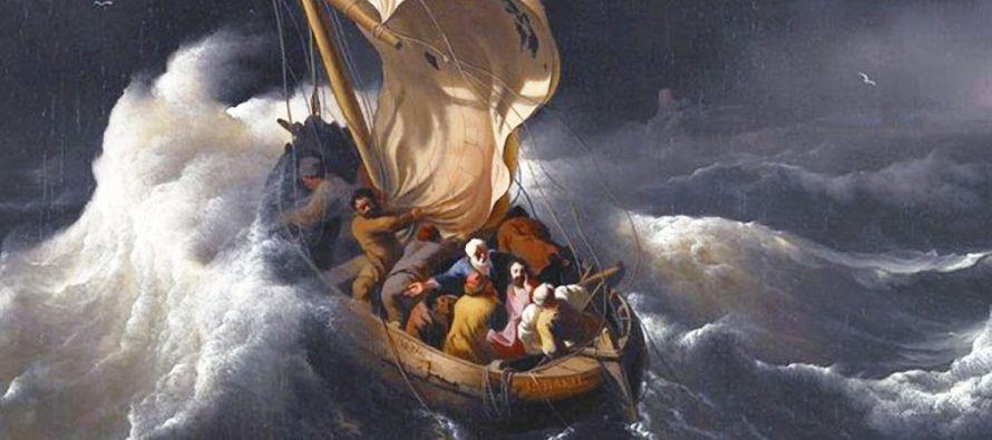 Él, habiéndose despertado, increpó al viento y dijo al mar:...