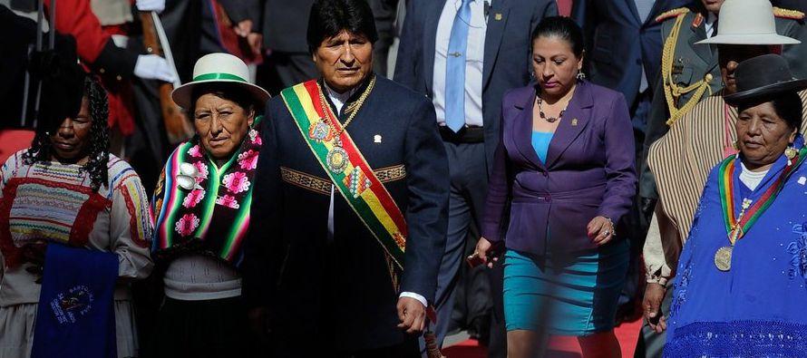 La decisión de Morales de seguir gobernando tiene eco en varios países de la...