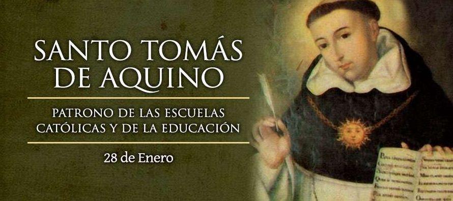 El 4 de agosto de 1.880 fue designado por León XIII patrón de las universidades y...