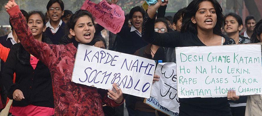 En India se producen, según datos del gobierno, unas20,000 violaciones a menores al...