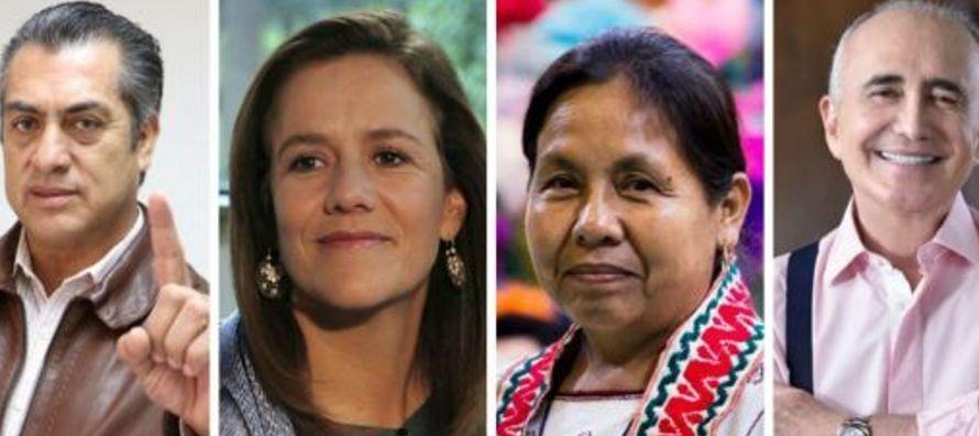Margarita Zavala, primera dama durante el Gobierno de Felipe Calderón (2006-2012) y quien...