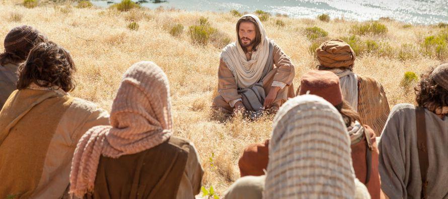 Resultado de imagen de desembarcar jesus y ver a la multitud