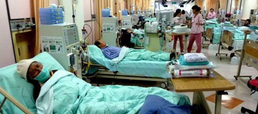 """""""Se trata de venezolanos que por no recibir la diálisis oportuna, a tiempo, sufrieron..."""