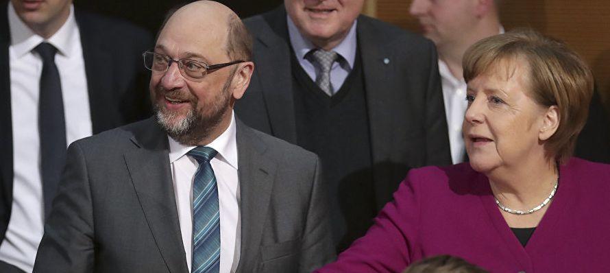 La canciller alemana, Angela Merkel, admitió hoy que en la última jornada de...