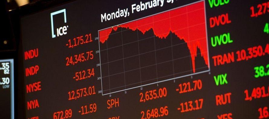 """""""El mercado de acciones ha subido significativamente... desde que el presidente Trump fue..."""
