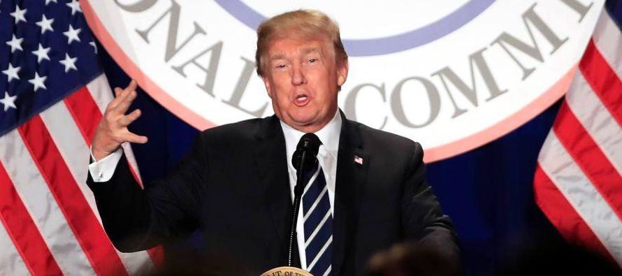 Trump tiene hasta el fin de semana para decidir si permite que salga a la luz la versión...