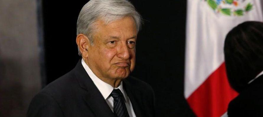 López Obrador tenía el 34 por ciento de los votos, once puntos porcentuales...