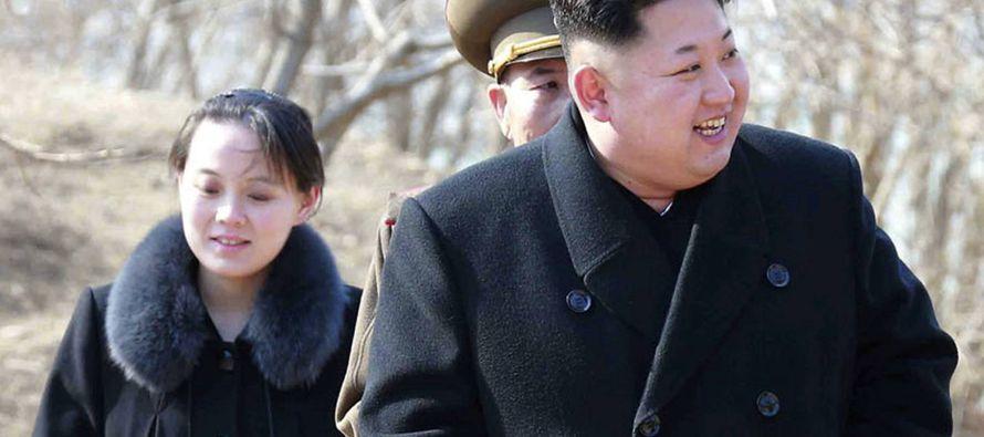 Según ha anunciado el Ministerio de Unificación surcoreano, Kim Yo-jong, de 30...