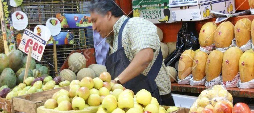 El índice nacional de precios al consumidor subió un 5.55 por ciento en un año...
