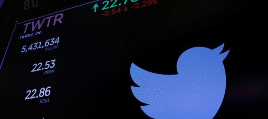 Twitter Inc reportó el jueves su primera ganancia neta trimestral, superando las...