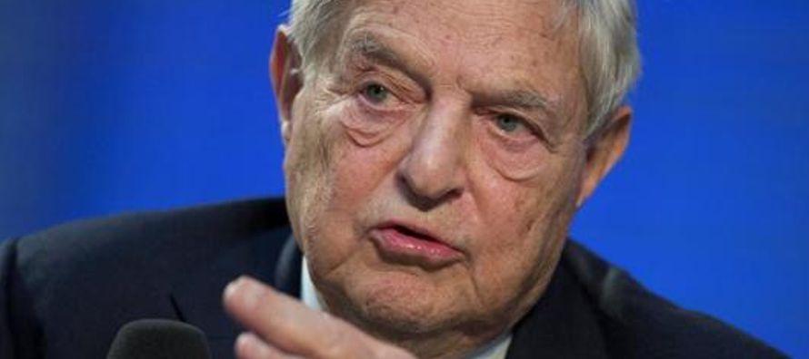 El multimillonario George Soros está detrás de la nueva campaña antiBrexit que...