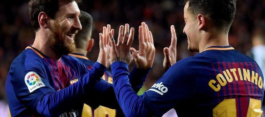 El astro argentino del FC Barcelona Lionel Messi se ha convertido en la imagen del mayor banco...