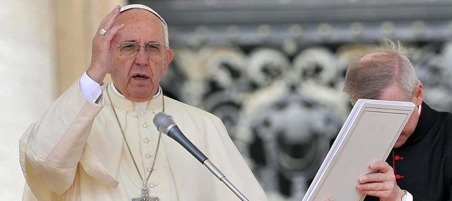 Es importante destacar de las palabras del Papa el agradecimiento al Grupo Santa Marta' por...