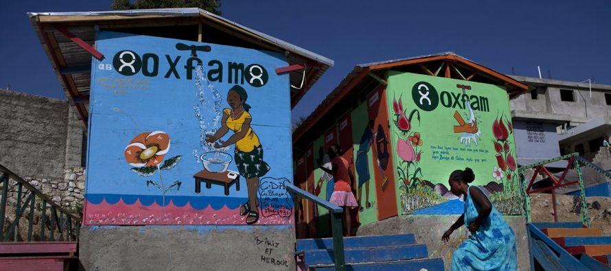 Oxfam es uno de los grupos privados de los que más depende el gobierno británico para...