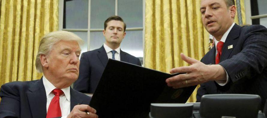 Frontera, defensa e infraestructuras. El proyecto de presupuesto presentado por Donald Trump para...