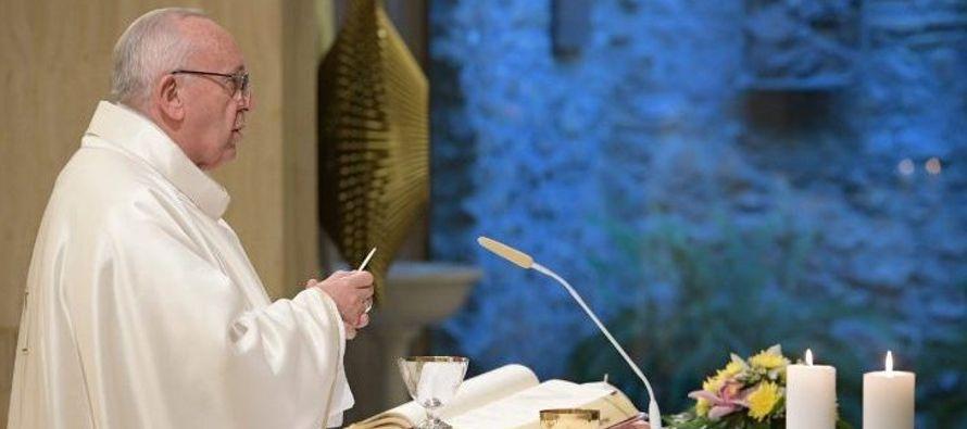 Así, el Papa ha explicado que su significado lleva consigo el sentido de la responsabilidad,...