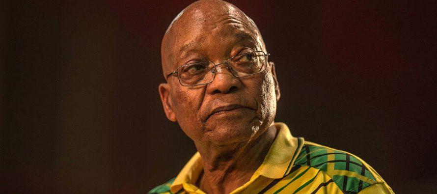 Ni Zuma ni el CNA se han pronunciado oficialmente todavía, pero este domingo Ramaphosa...