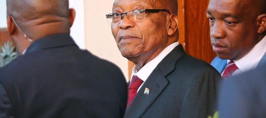 Desde que el vicepresidente Cyril Ramaphosa fue electo líder del partido en diciembre, Zuma...