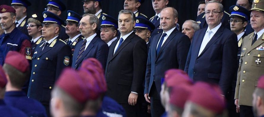 Zoltan Kovacs, el vocero del gobierno húngaro y el único funcionario actual que...