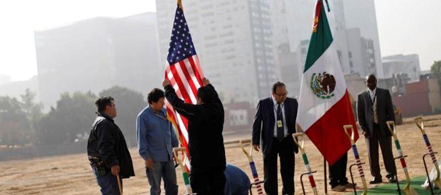 La construcción de una nueva embajada estadounidense de 943 millones de dólares en...