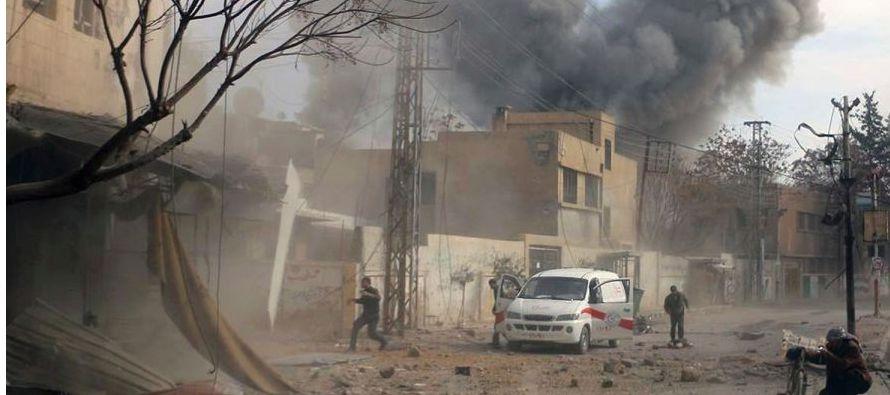 """""""El conflicto está extendiéndose más allá de las fronteras sirias,..."""