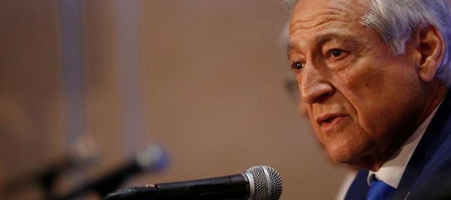 El canciller chileno, Heraldo Muñoz, dijo que la invitación a Maduro y las elecciones...