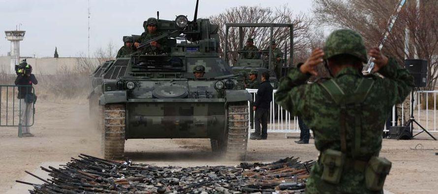 El gobierno mexicano afirma que de no haber actuado la situación ahora sería peor,...