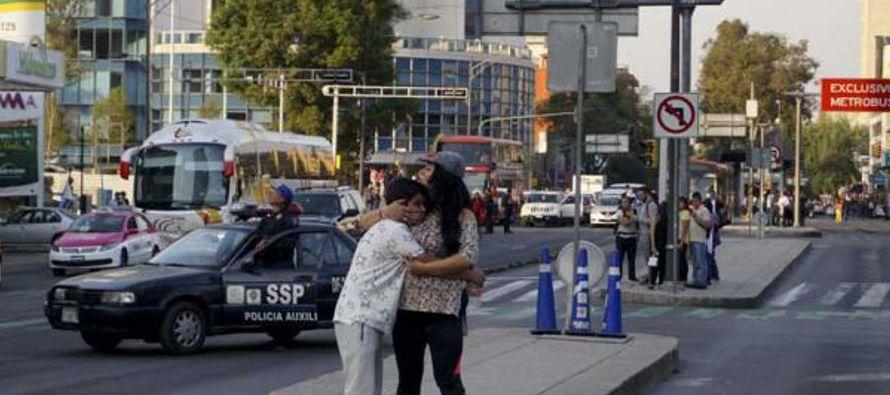 Los protocolos en caso de sismo fueron activados por las autoridades de Ciudad de México,...