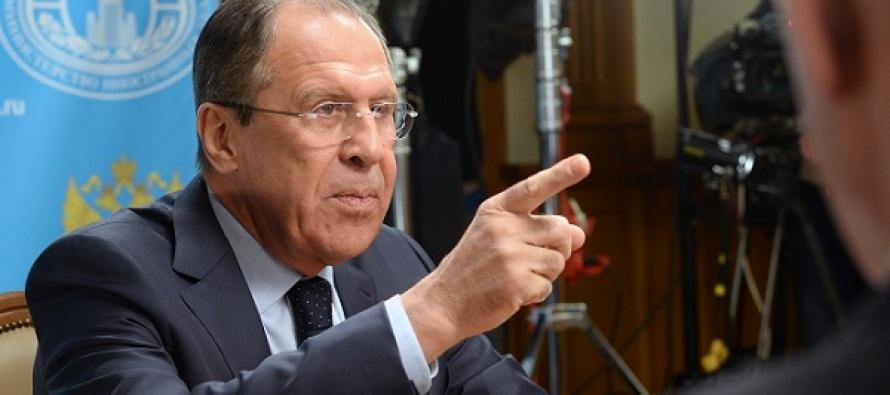 El ministro ruso de Exteriores, Serguéi Lavrov, aseguró hoy que las acusaciones en EU...