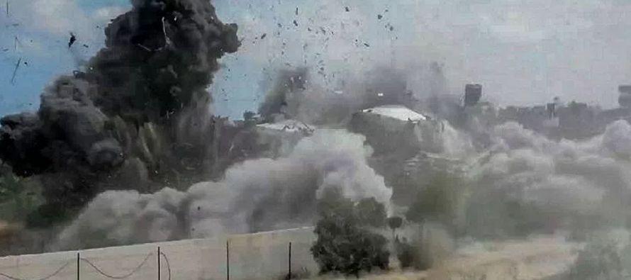 Israel bombardea seis posiciones de milicias palestinas en Gaza, según Hamás