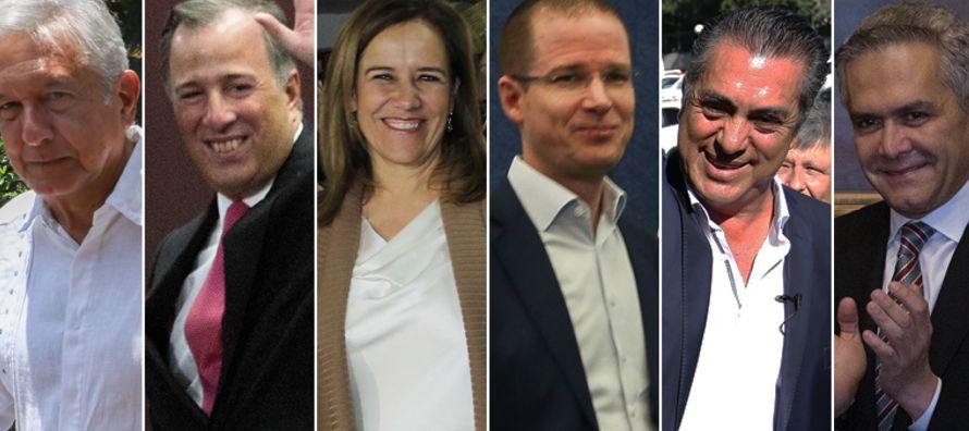 López Obrador, quien busca la Presidencia de México por tercera ocasión,...