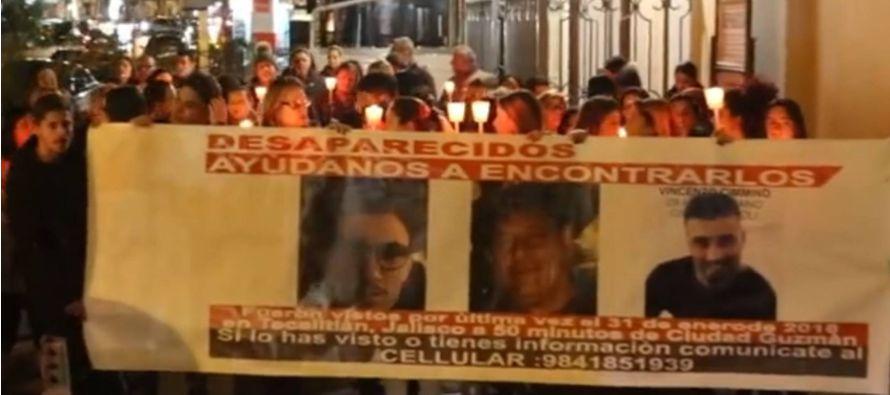 El italiano Raffaele Russo, su hijo Antonio Russo y su sobrino Vincenzo Cimmino fueron reportados...
