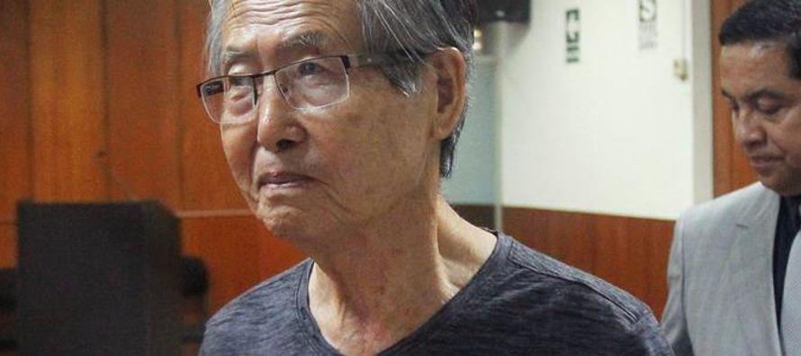 """""""Voy a consultar con el señor Fujimori. Ahora en términos legales lo que puede..."""