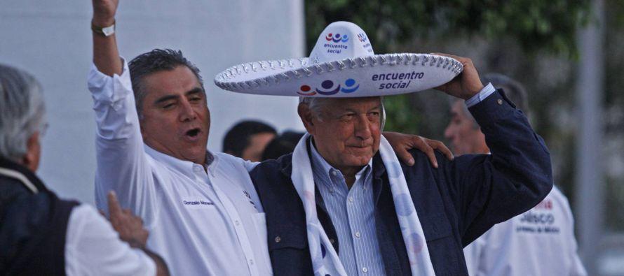 Villanueva, parte del sector progresista de Morena, afirma estar tranquilo ante la alianza de...