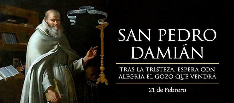En sus años de monje, Pedro Damián aprovechó aquel ambiente de silencio y...