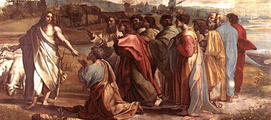 «Y yo te digo que tú eres Pedro, y sobre esta piedra edificaré mi Iglesia, y...