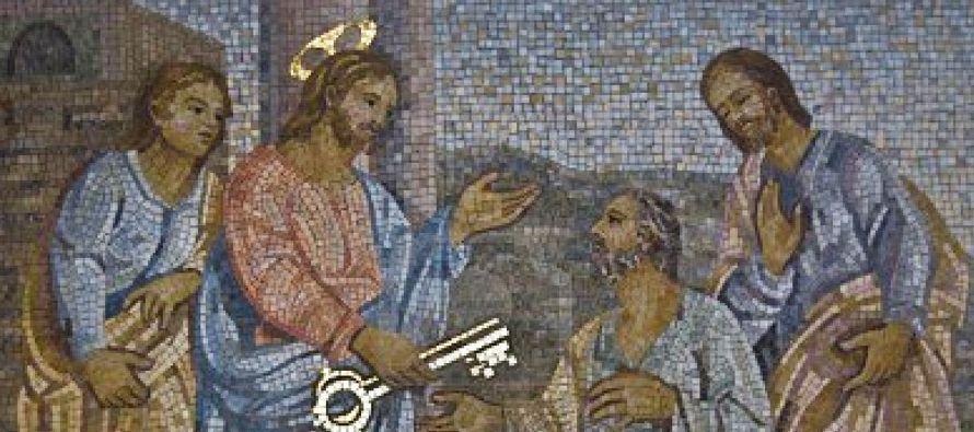 San Pedro, recibe una gran tarea: Jesús lo elige primer papa de la Iglesia. Y le explica su...