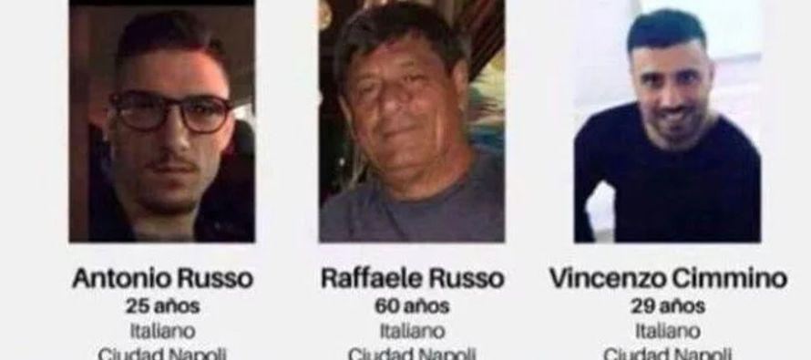La fuente aventuró que la desaparición de los tres italianos podría ser obra...