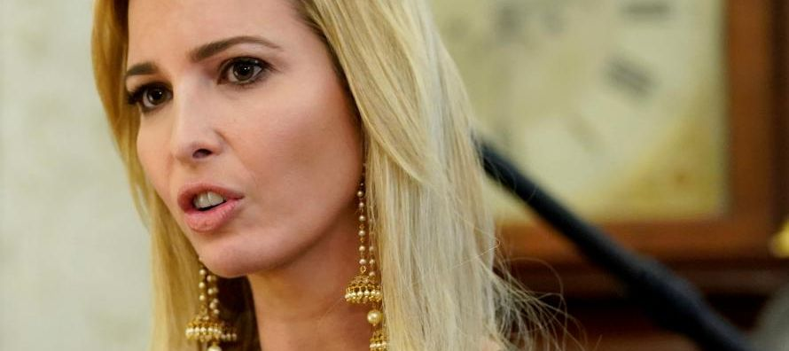 La hija y asesora del presidente estadounidense Donald Trump, quien encabeza la delegación...