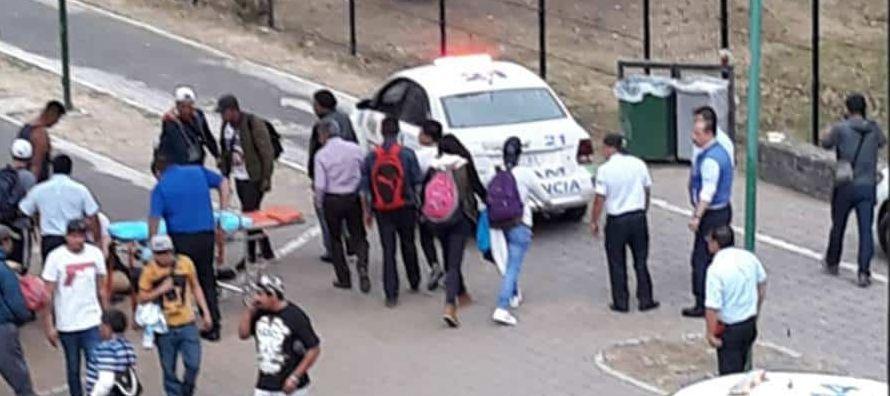 """""""La universidad desde hace años no había sufrido actos de violencia entre grupos..."""