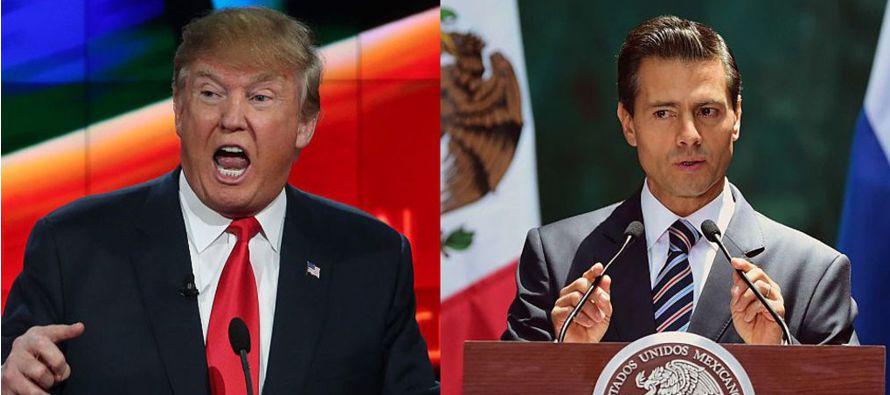 Especialistas mexicanos advirtieron a Peña que una visita a Estados Unidos sería...