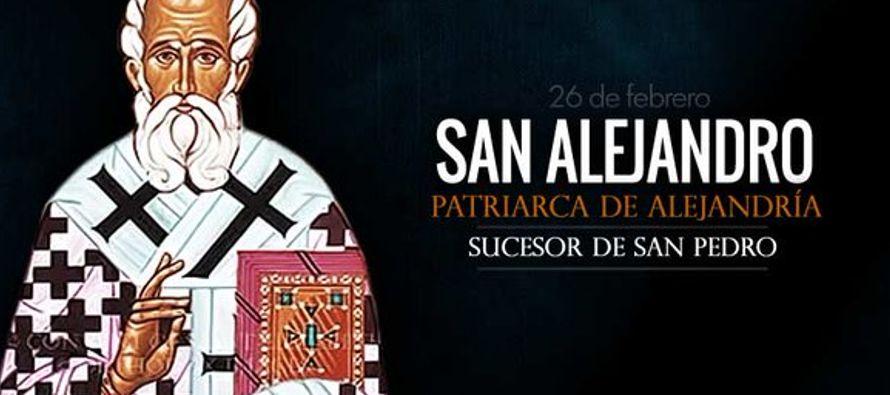 Conmemoración de san Alejandro, obispo, anciano célebre por el celo de su fe, que fue...
