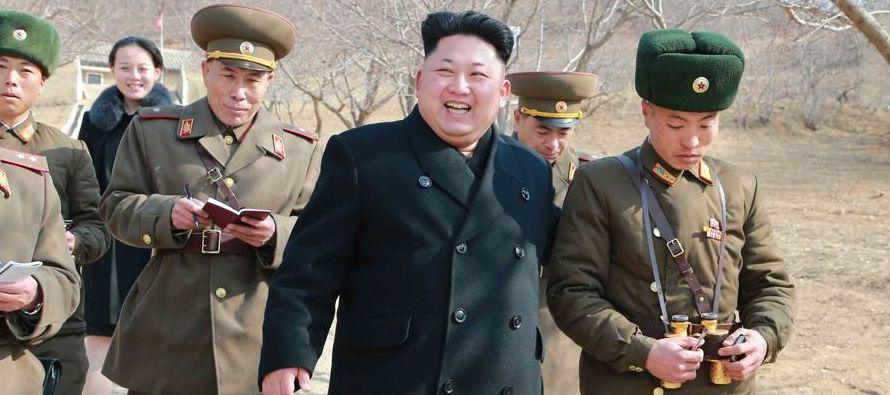 """Corea del Norte considera que estas sanciones están dirigidas a lograr """"un bloqueo..."""